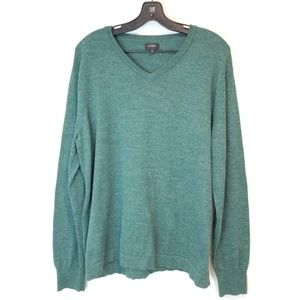 J. Crew Men's Sweater Green/Teal size L